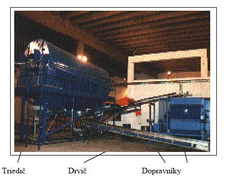 Linka na výrobu alternatívneho paliva