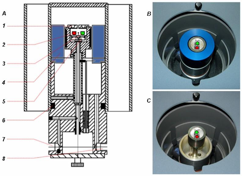 Mikropícka DSC kalorimetru