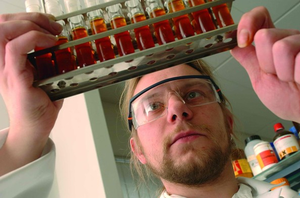 Chemická analýza v řízení bioplynových stanic - ilustrační foto