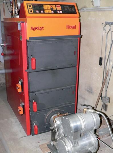 Hoval AgroLyt 25kW se Stirlingovým motorem 1 kW
