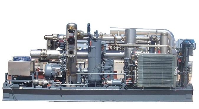 Kompresor na skládkový plyn