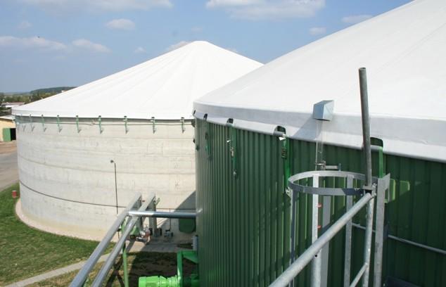 Významná část zemědělské biomasy je využita v bioplynových stanicích