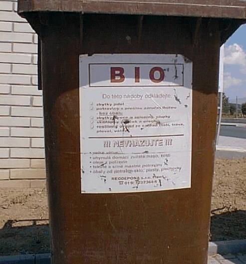 ilustrativní foto - bioodpad