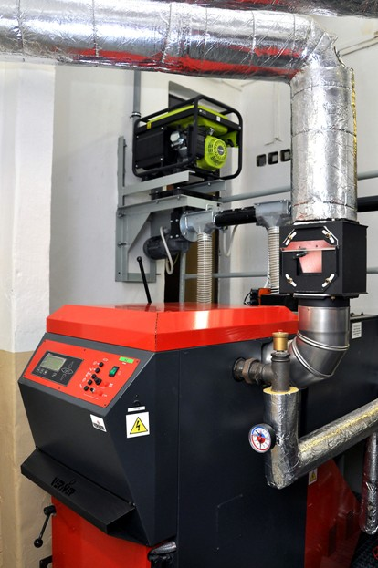 Automatický kotel VERNER A501