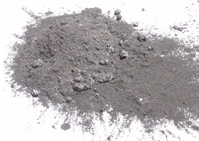 Směs biomasového popela ze žlutické výtopny