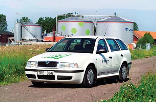 Škoda Octavia s pohonem na bioplyn, zdroj: SEVEn