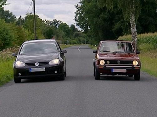 Volkswagen Golf V a Golf I (SWR Fernsehen)